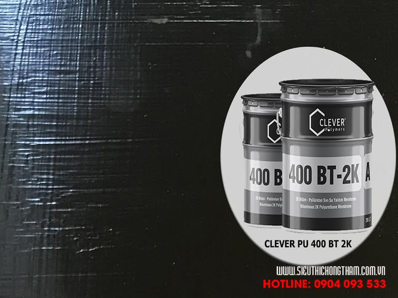 bề mặt hoàn thiện lớp chống thấm clever 400 bt 2k
