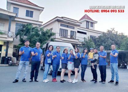 đội ngũ cán bộ công ty Việt Thái tại HCM