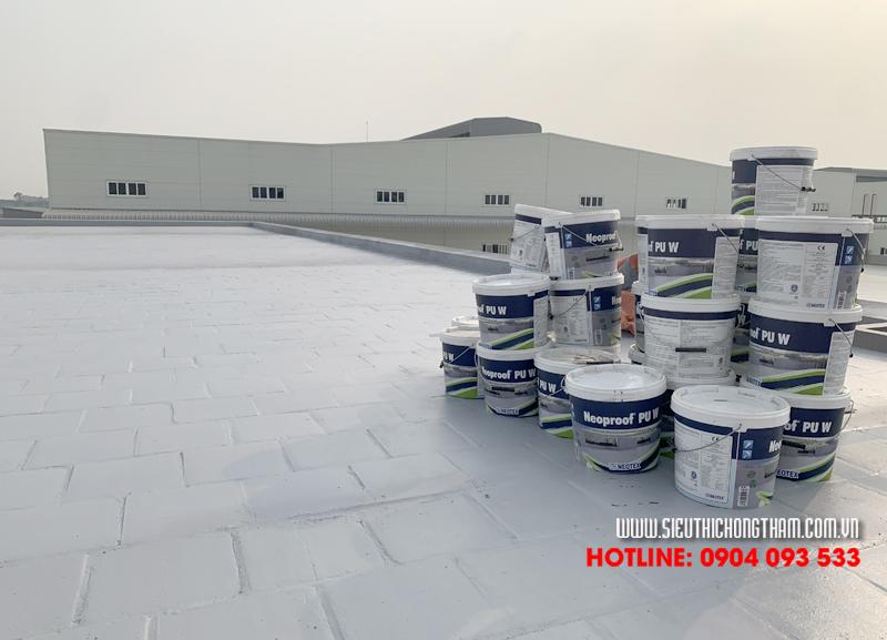 Việt Thái cung cấp đa dạng dịch vụ chống thấm