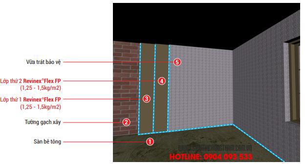 các bước chống thấm tường liền kề chi tiết