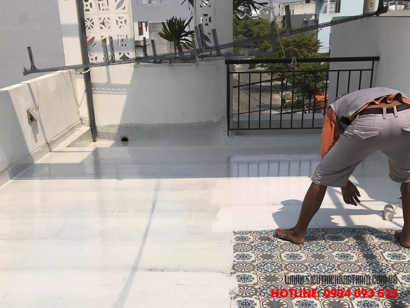 chống thấm sân thượng sau khi ốp gạch độ bền cao chi phí nhỏ