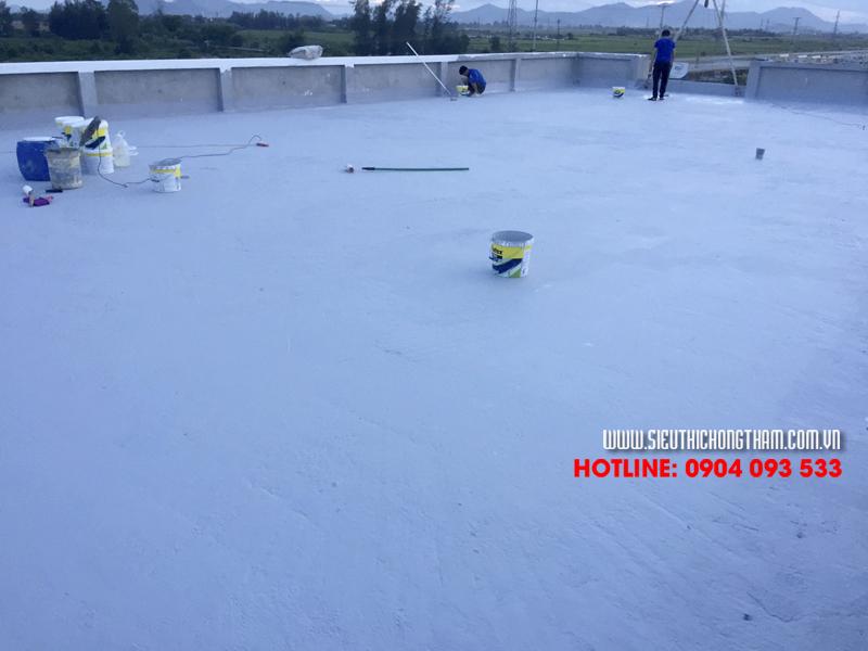 1 công trình chống thấm sàn mái