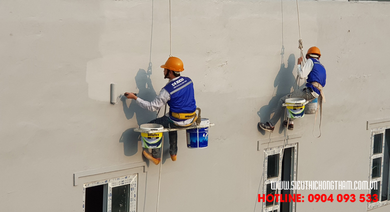 cách thi công chống thấm tường ngoài đơn giản hiệu quả
