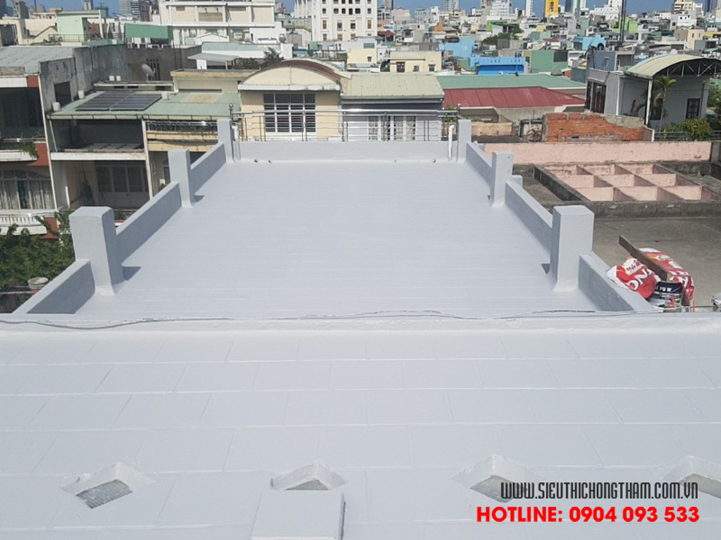 sân thượng là khu vực cần được ưu tiên chống thấm hàng đầu