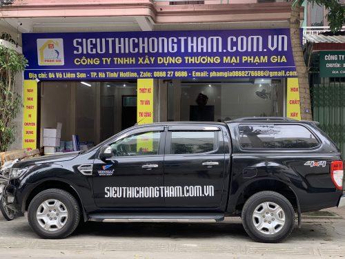 Việt Thái hỗ trợ khách hàng mở siêu thị chống thấm tốt nhất