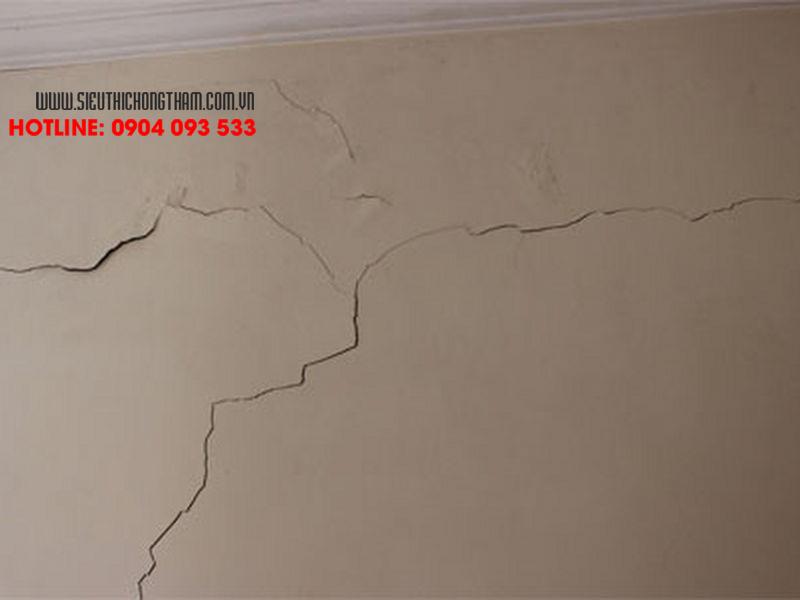 cách xử lý vết rạn tường ngoài nhà