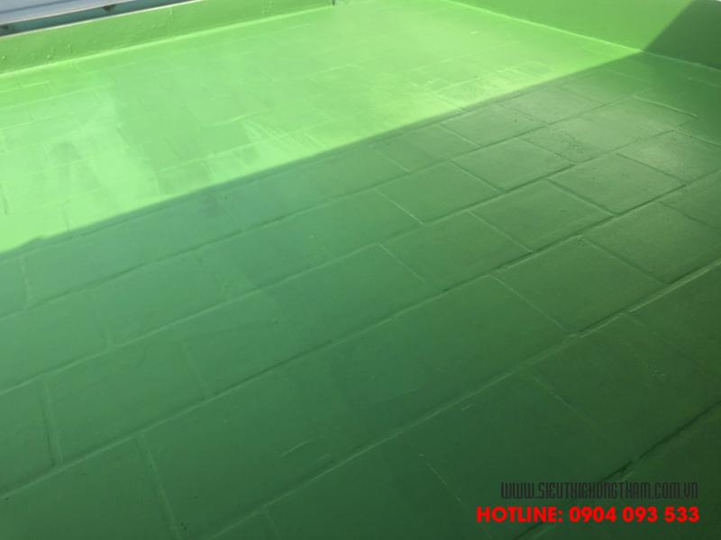 chống thấm sân thượng mang độ bền và thẩm mỹ