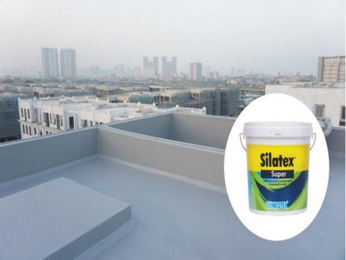 Quy trình chống thấm sàn mái lộ thiên dùng Silatex Super bài bản