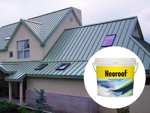 quy trình chống thấm chống nóng sàn mái tôn sử dụng neoroof