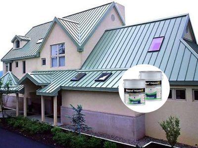 quy trình chống thấm sàn mái tôn sử dụng neoproof polyurea R chi tiết