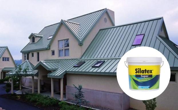 silatex super chống thấm mái hữu hiệu